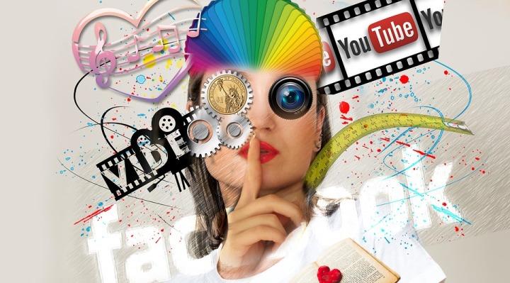 no redes sociales