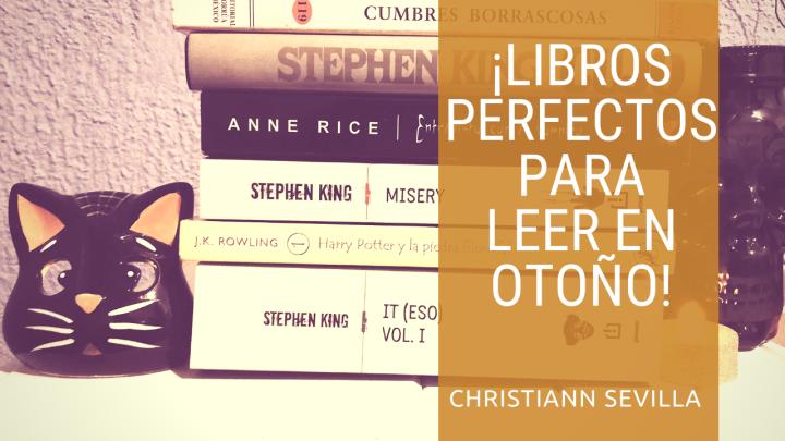 Libros perfectos para leer enotoño